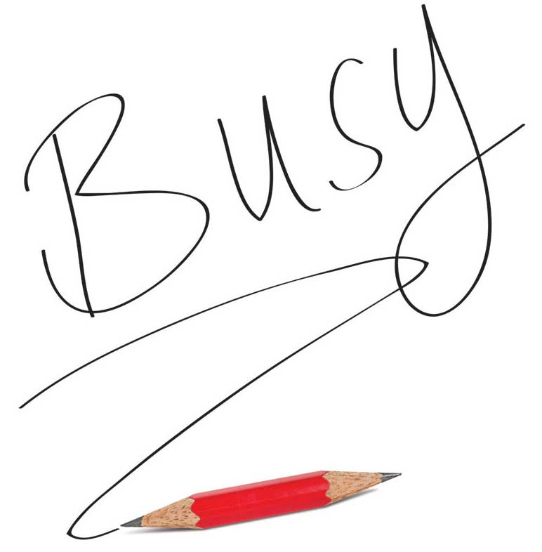 Cover of Busy: How to Thrive in a World of Too Much, by Tony Crabbe