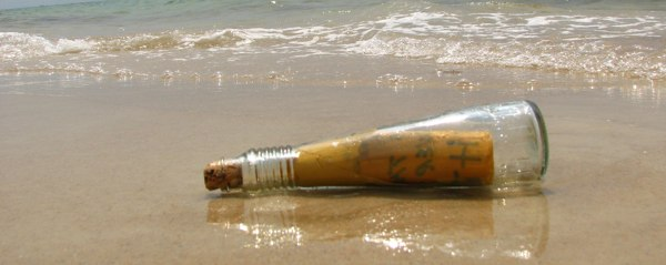 Message in the bottle by funtik.cat on Flickr