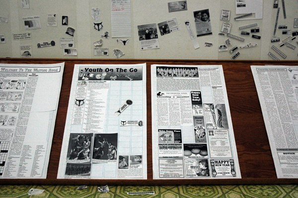 Photo of an 'old school' newspaper layout by 'limonada' on Flickr
